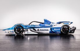 Magna Signs on as Primary Partner for BMW i Andretti Motorsport Formula E Team