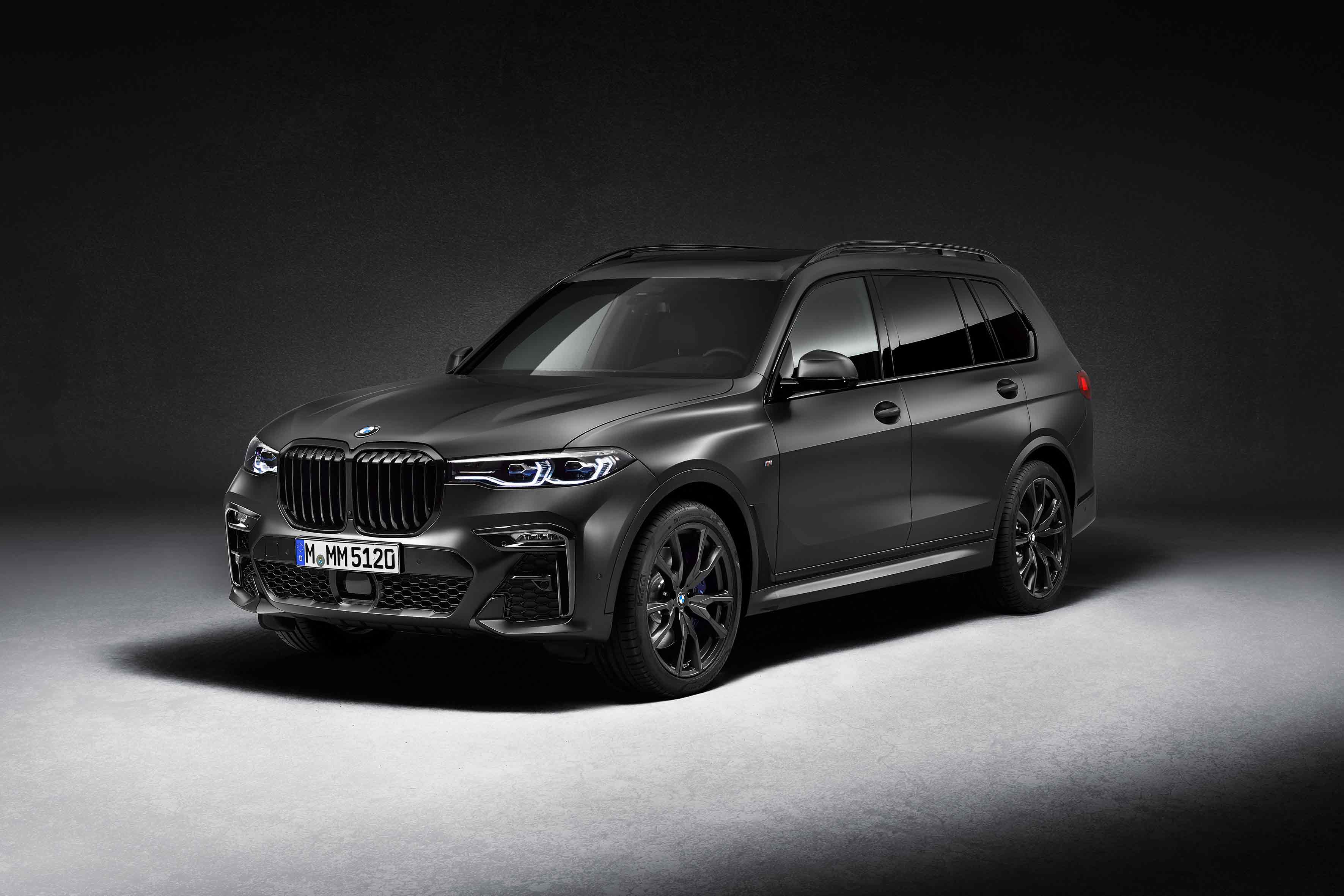 The BMW X7 Dark Shadow Edition