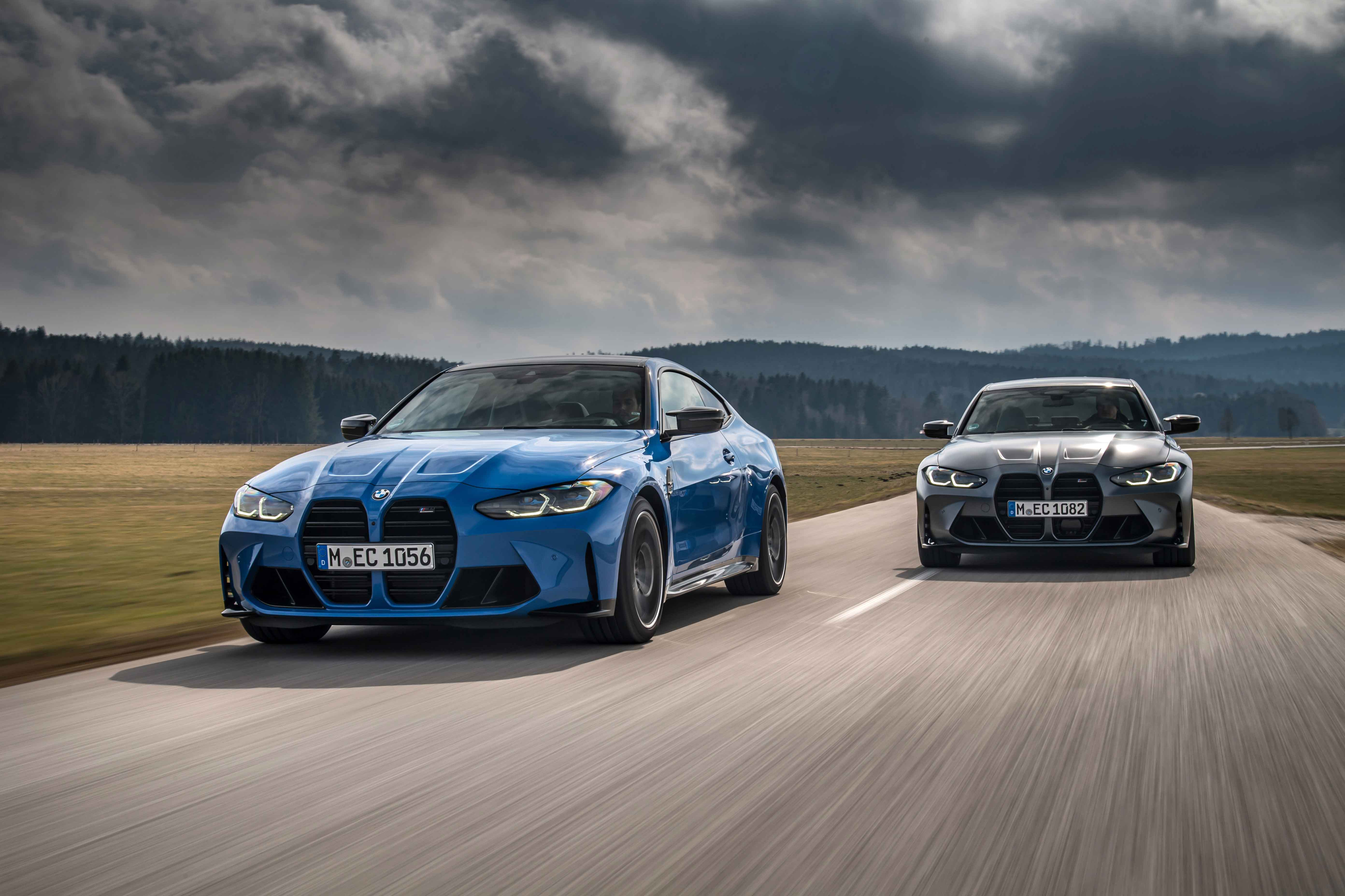 M xDrive makes its debut in the BMW M3 and BMW M4