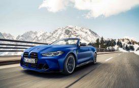 The new BMW M4 Competition Convertible with M xDrive.