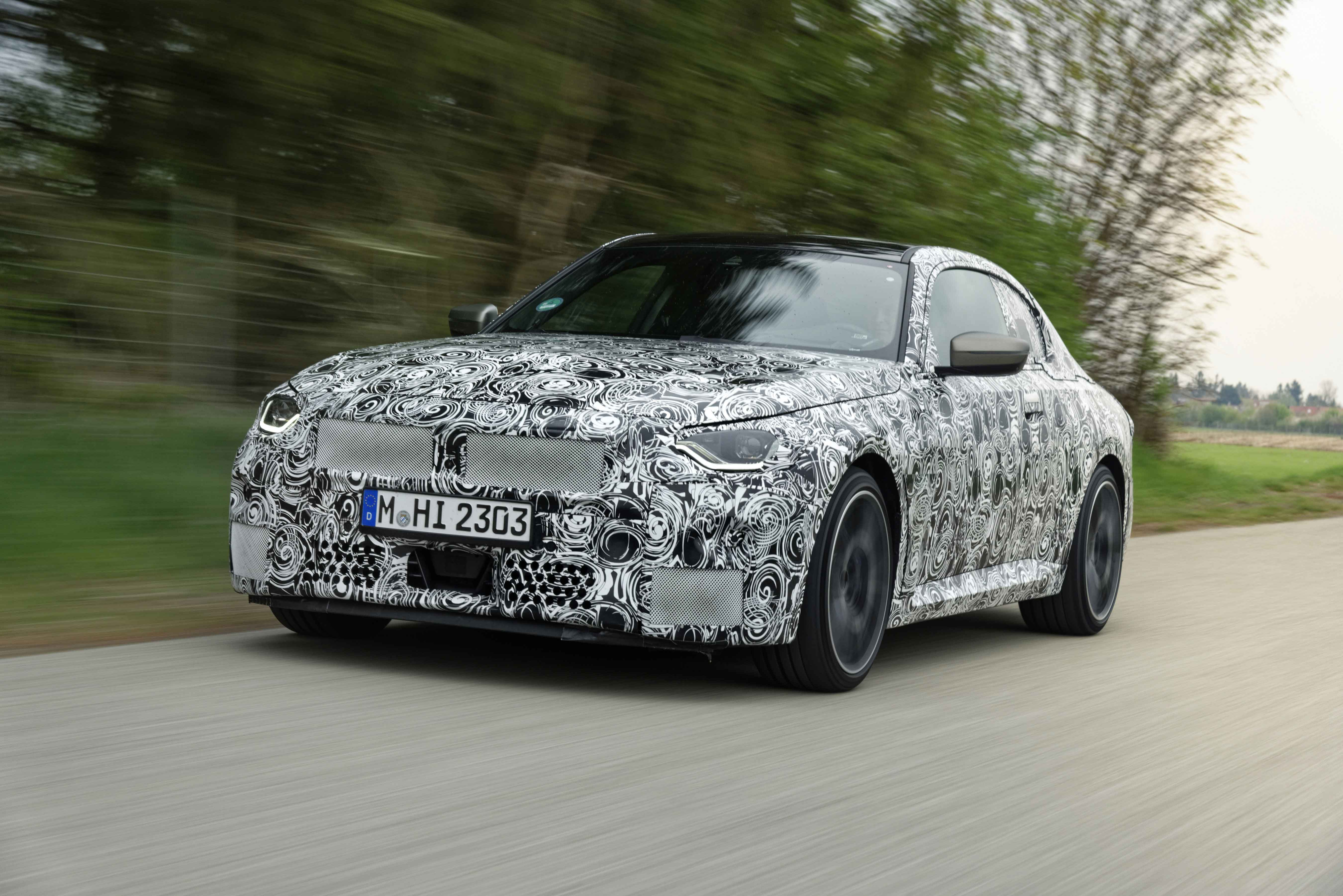 On the final straight to unique driving dynamics The new BMW 2 Series Coupé.