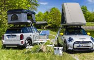 Mini goes on holiday - with the greenest camper fleet in the world.