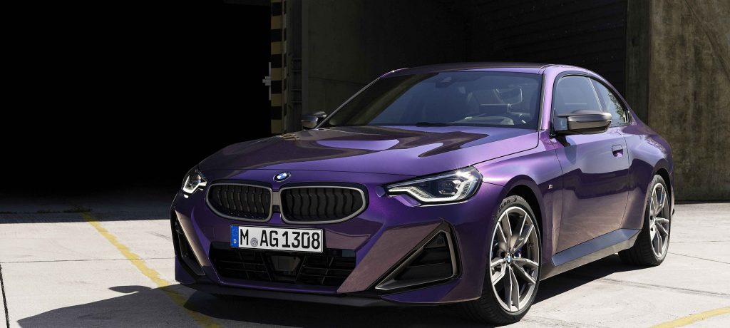 The all-new BMW 2 Series Coupé