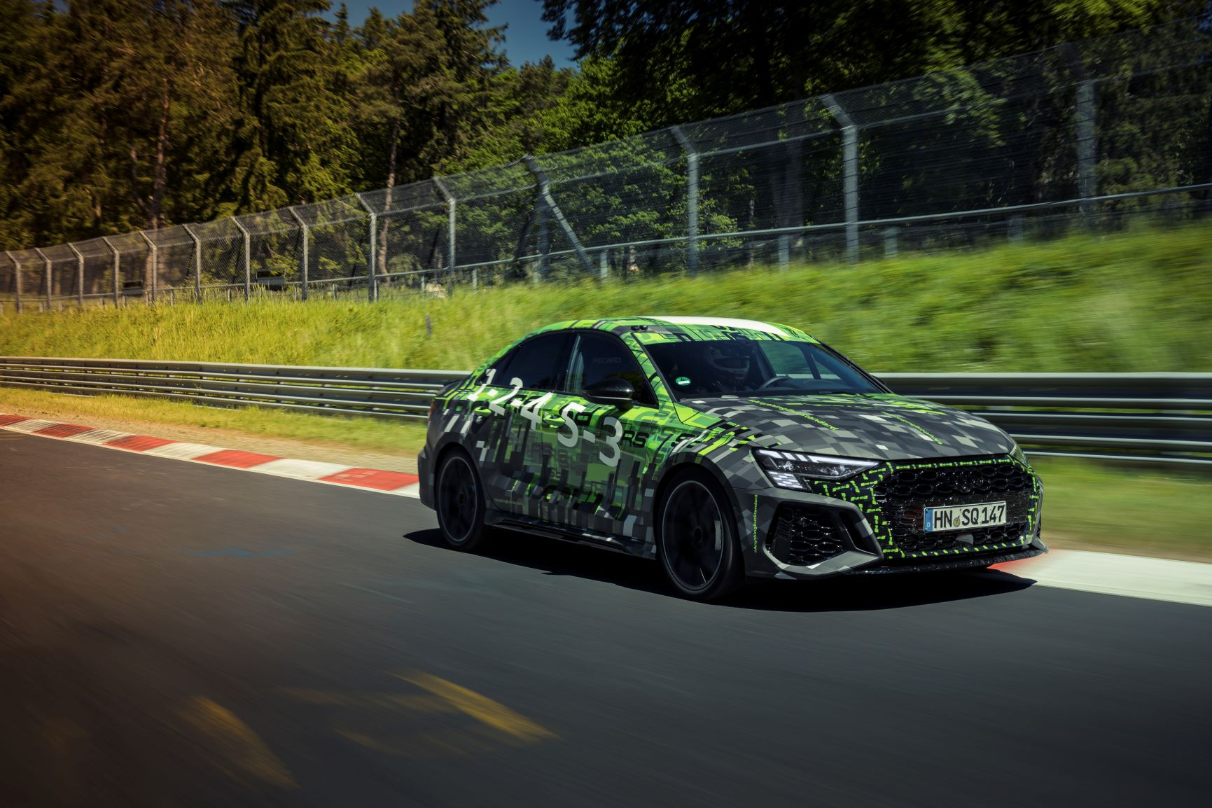 Pirelli P Zero Trofeo R: Record Performance With The New Audi Rs 3 At The Epic Nurburgring