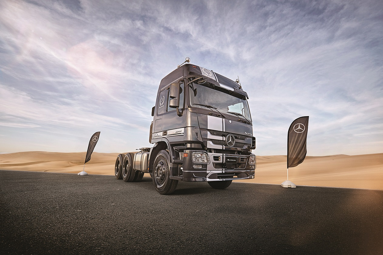 Mercedes-Benz Trucks Marks 20th Anniversary of Actros truck with Special Edition