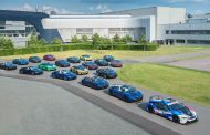 Final 18 BMW i8 cars leave Plant Leipzig.