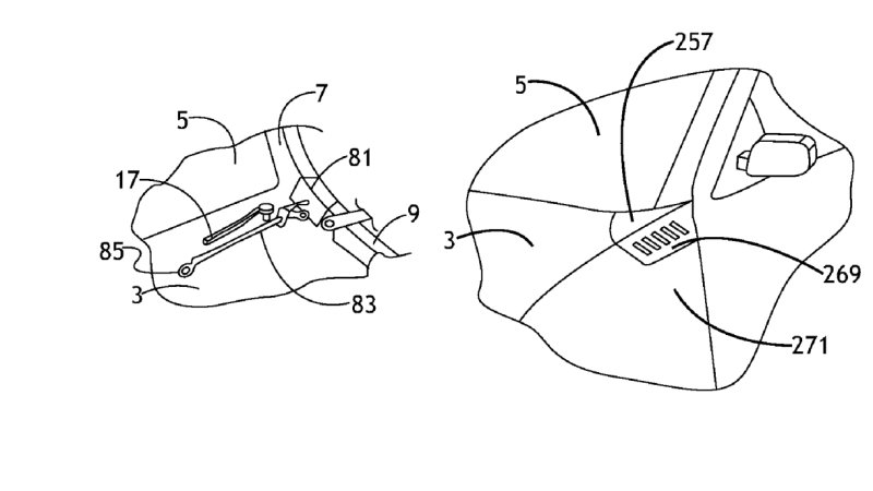 GM Files Patent for Pedestrian Airbags