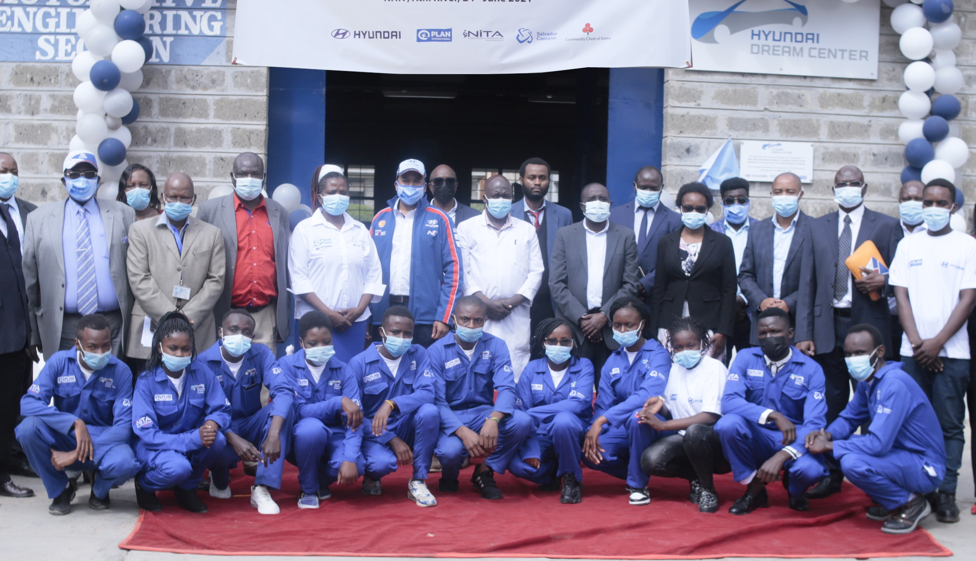 Hyundai Motor Opens Global Hyundai Dream Center in Kenya for Automotive Training and Education