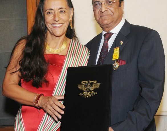 JK Tyre CMD Gets Award from Mexican Government
