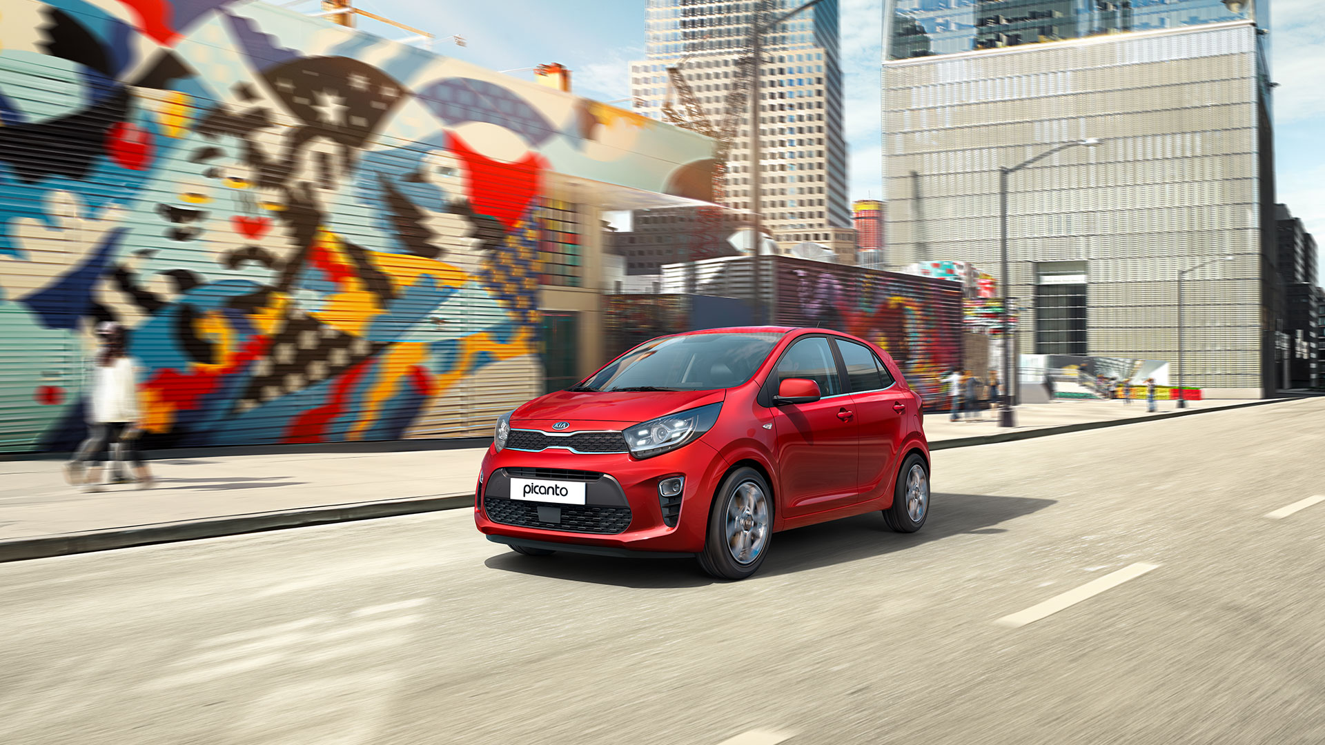 A DISTINCTIVE NEW DESIGN WITH  BUNDLES OF HIGH-TECH FEATURES ON NEW KIA PICANTO