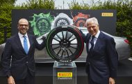 Pirelli Launches New Limited Edition Tricolor Tyre to Represent Italian Flag