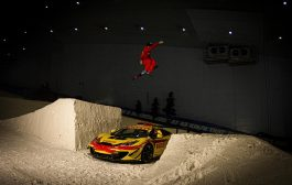 Pirelli Pulls off Incredible Stunt at Ski Dubai