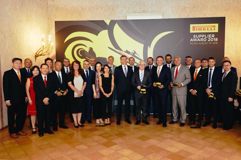 Pirelli Honors Nine Suppliers at Supplier Awards 2018