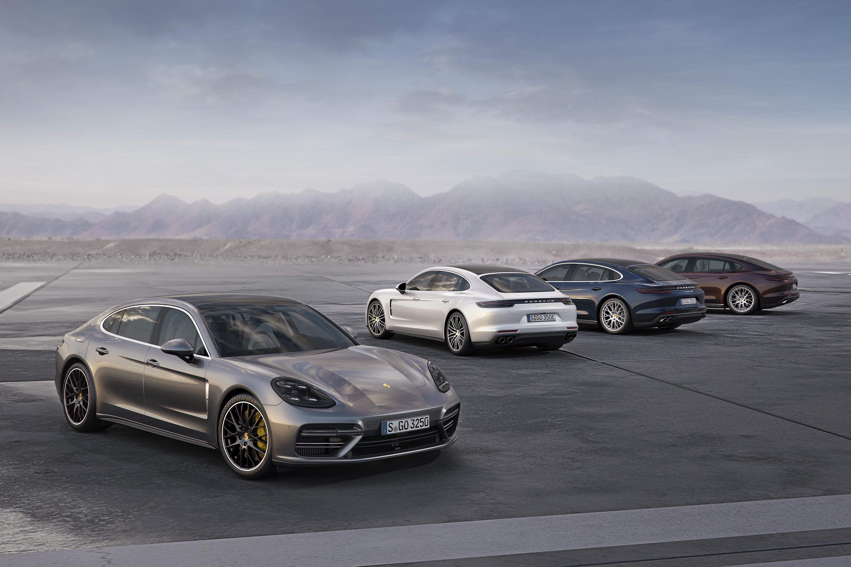 Porsche Adds New Variants to Panamera Range