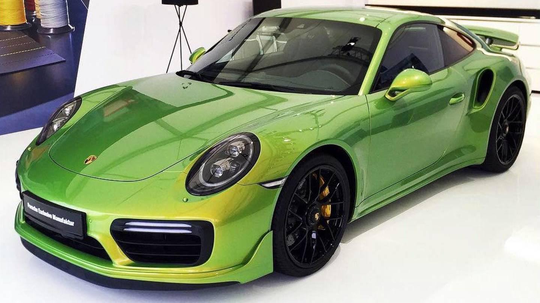 Porsche Develops Custom Shade Costing More than Porsche 911 Carrera
