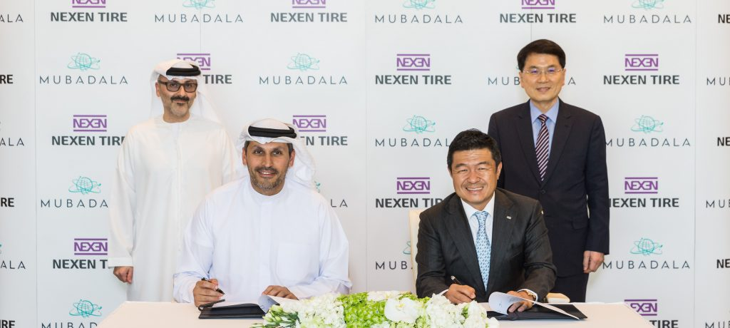 Nexen Tire Signs MOU with Mubadala Investment Company