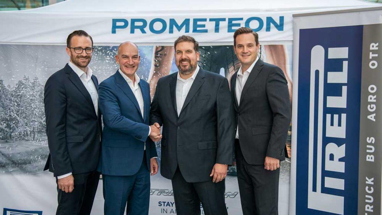 Prometeon Finalizes Partnership Agreement with Alltrucks Truck & Trailer Service