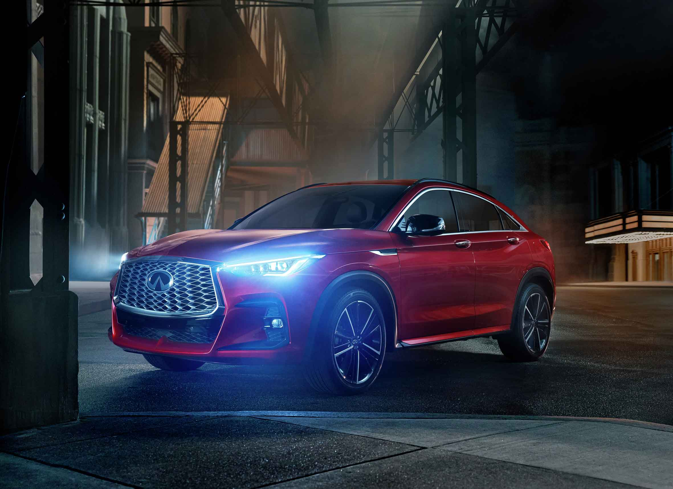 Show-stealing, all-new INFINITI QX55 debuts as next breakout performer for luxury brand