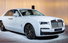 New Rolls-Royce Ghost  Revealed In Dubai