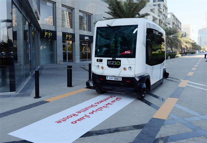 RTA to Conduct Tests for Autonomous Vehicles at Traffic Signals