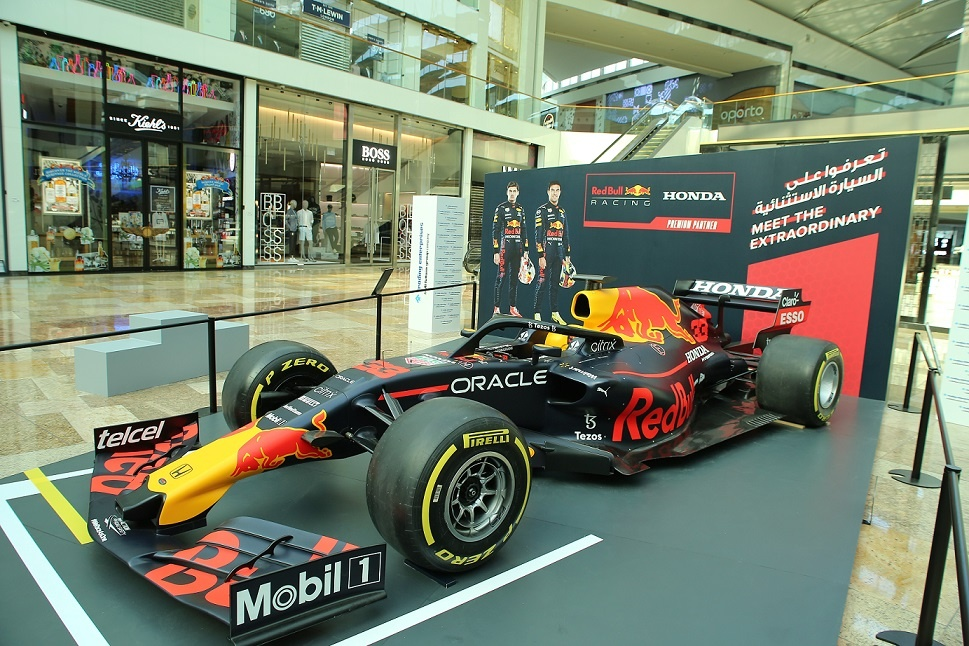 Red Bull Racing Honda F1 Show Car Comes to Town