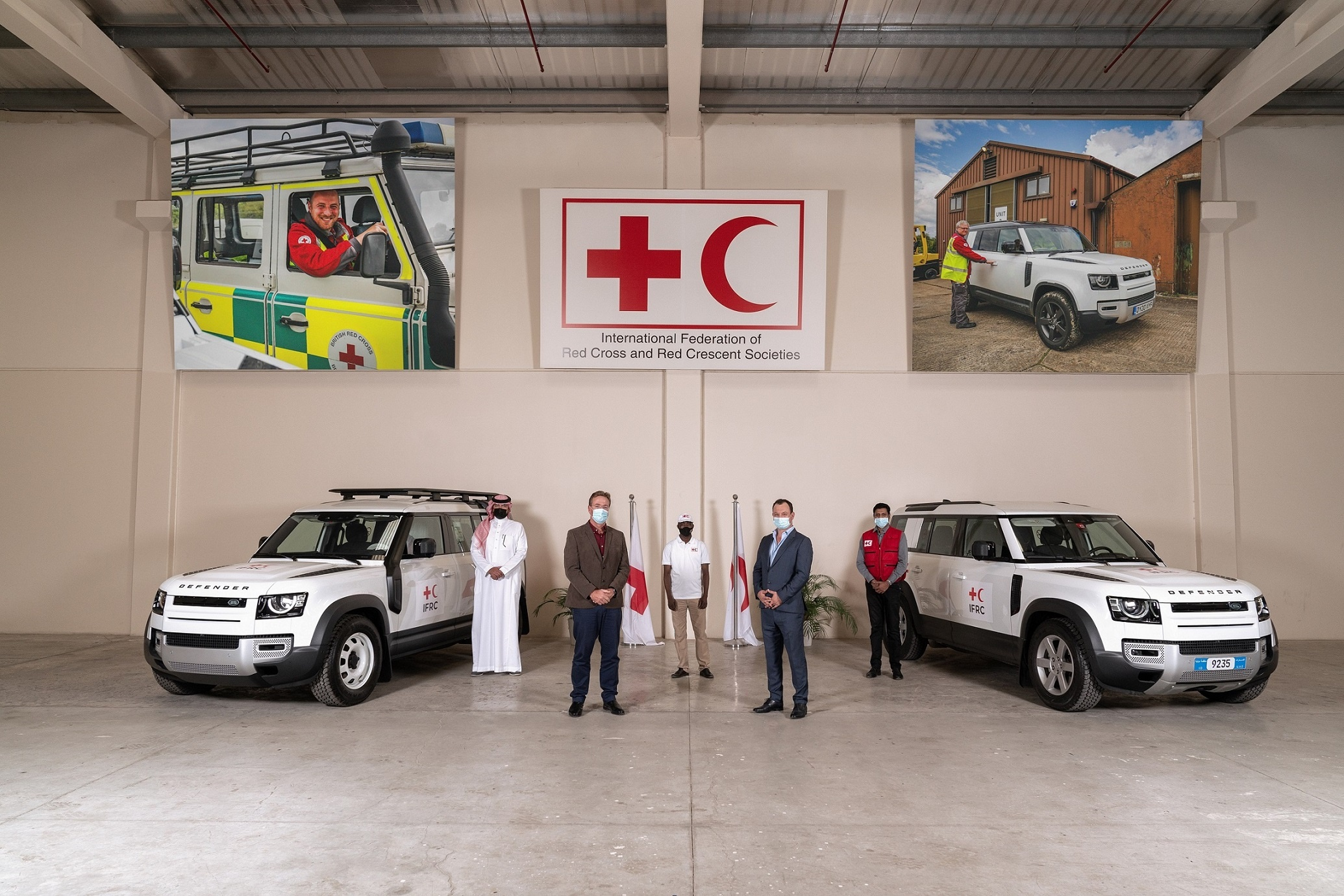 New Land Rover Defender Supports Ifrc Emergency Response