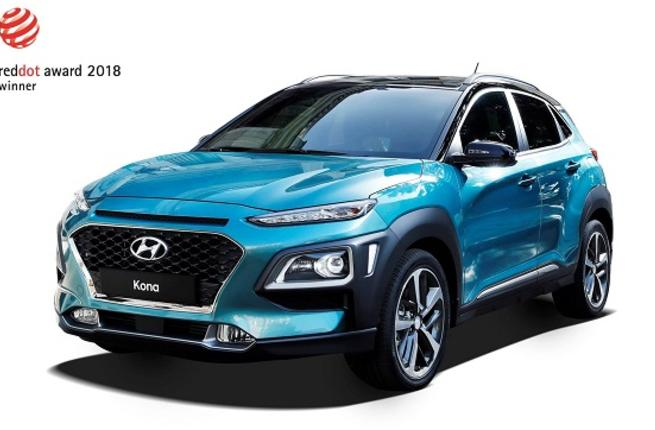 Hyundai Wins Red Dot Design Award for NEXO and Kona
