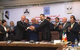 Renault signs a new joint venture with Iranian companies