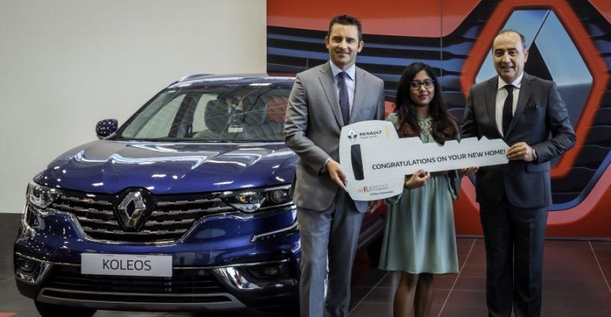 Winner of Arabian Automobiles Promotion Gets Brand-New Home in Ras Al Khaimah