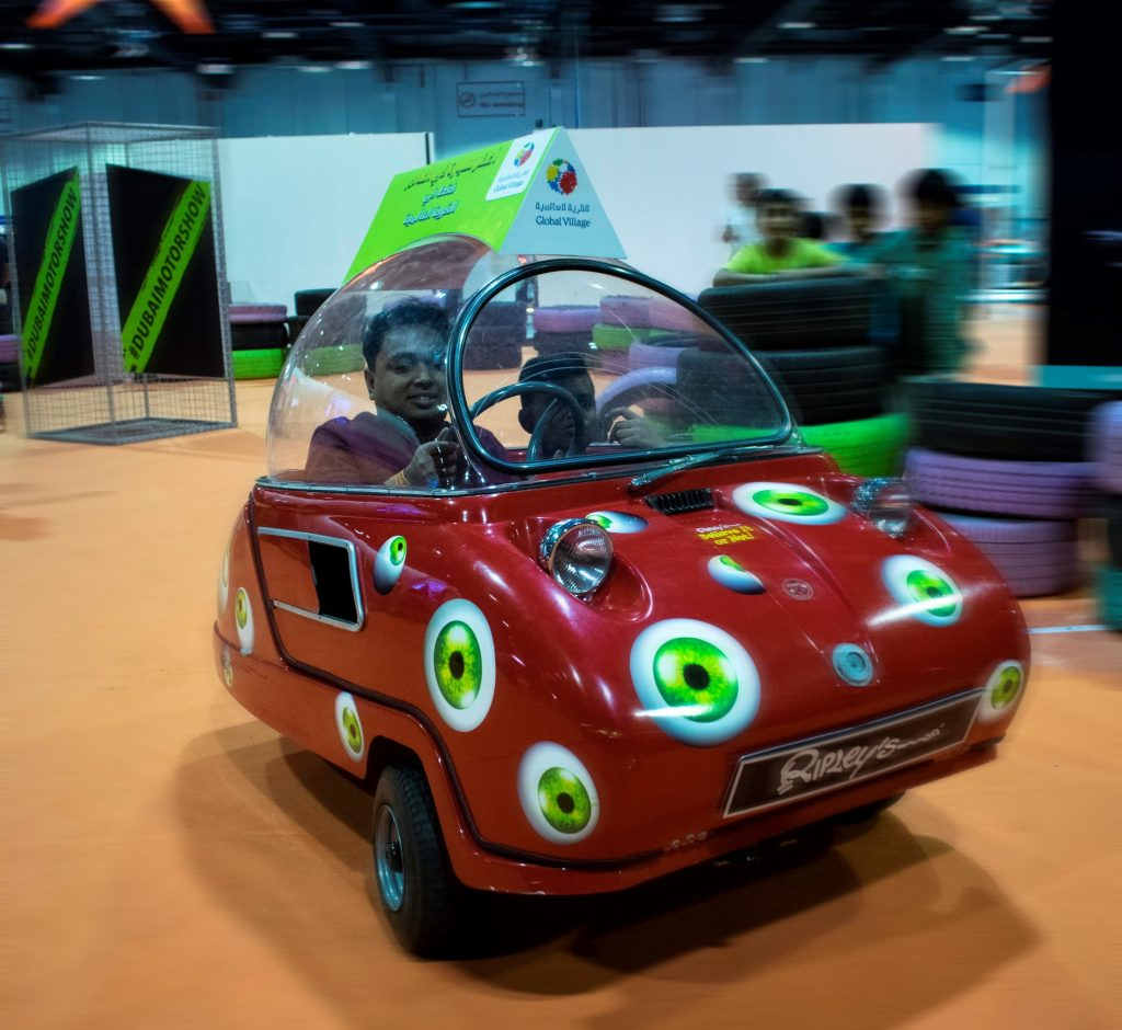 Ripley's Believe It or Not!® Brings Smallest Car in the World to Dubai International Motor Show - Tires & Parts News