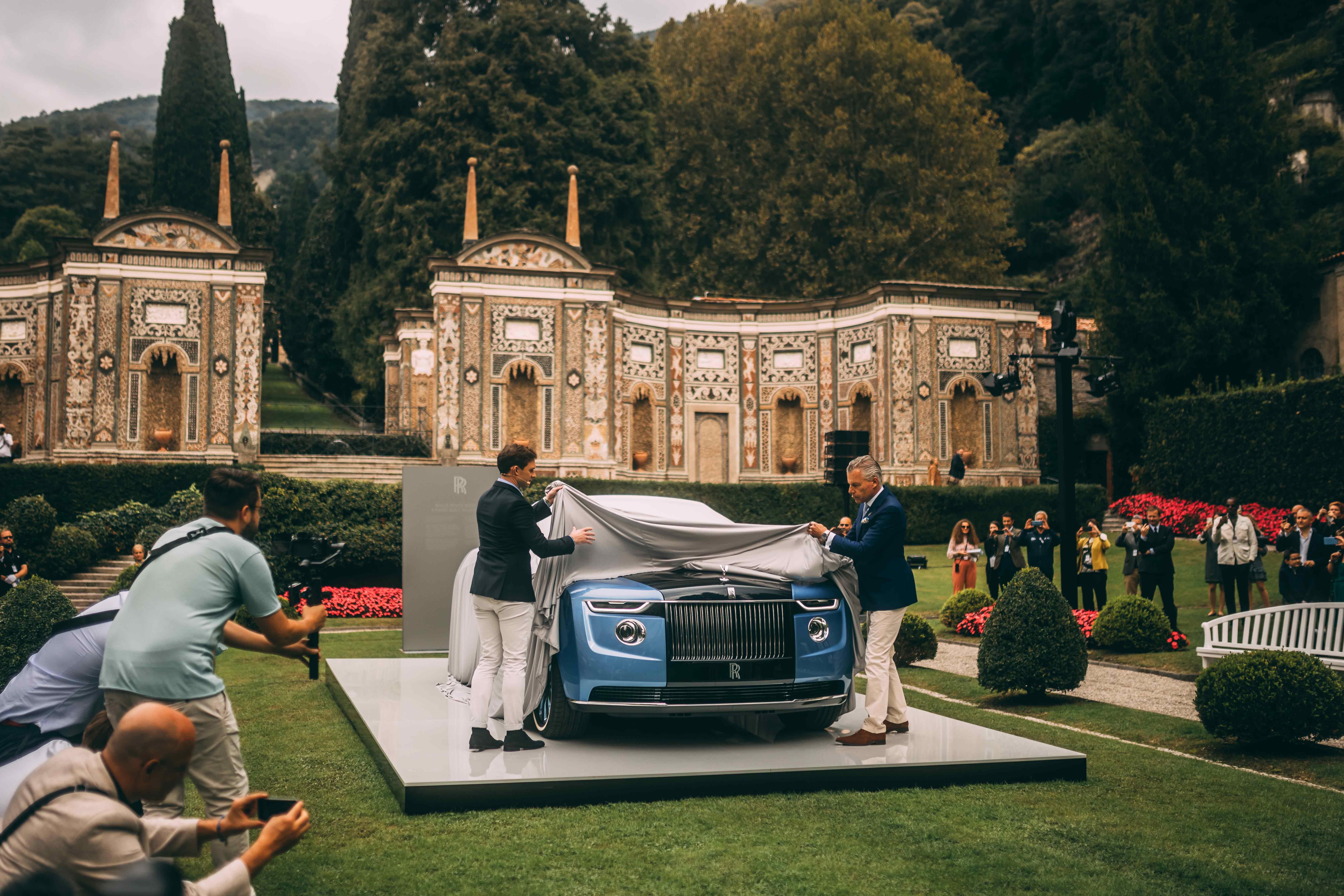 Coachbuilt Masterpiece 'Boat Tail'  Made Global Debut At Villa D'este