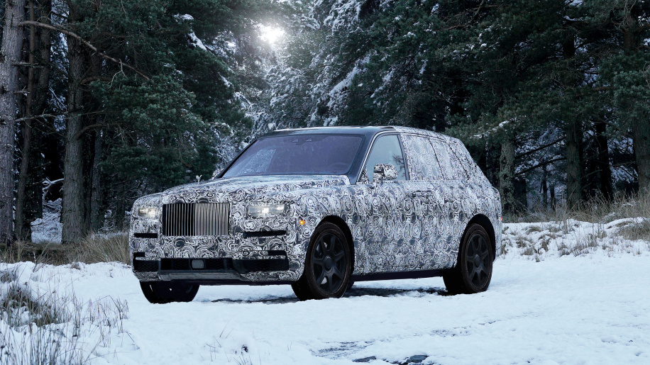 Rolls-Royce Officially Confirms Reveals Name of First SUV