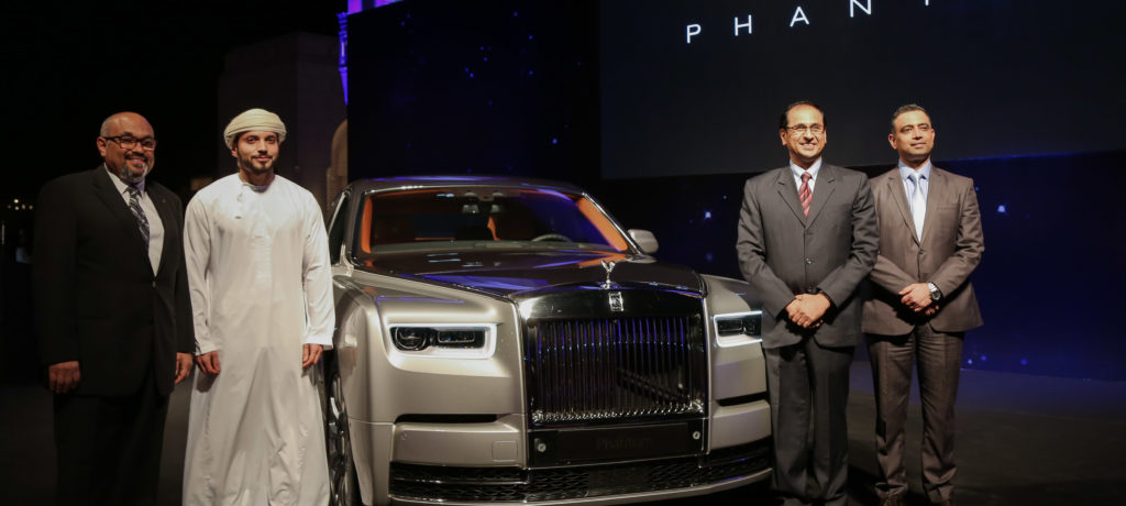 New Rolls Royce Phantom arrives in Oman
