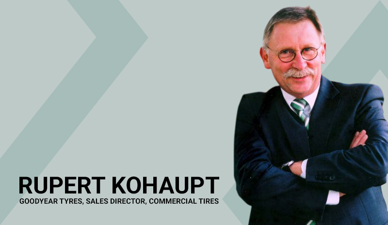 Interview with Rupert Kohaupt Sales Director, Commercial Vehicles, Tire sales, Emerging Markets, Goodyear