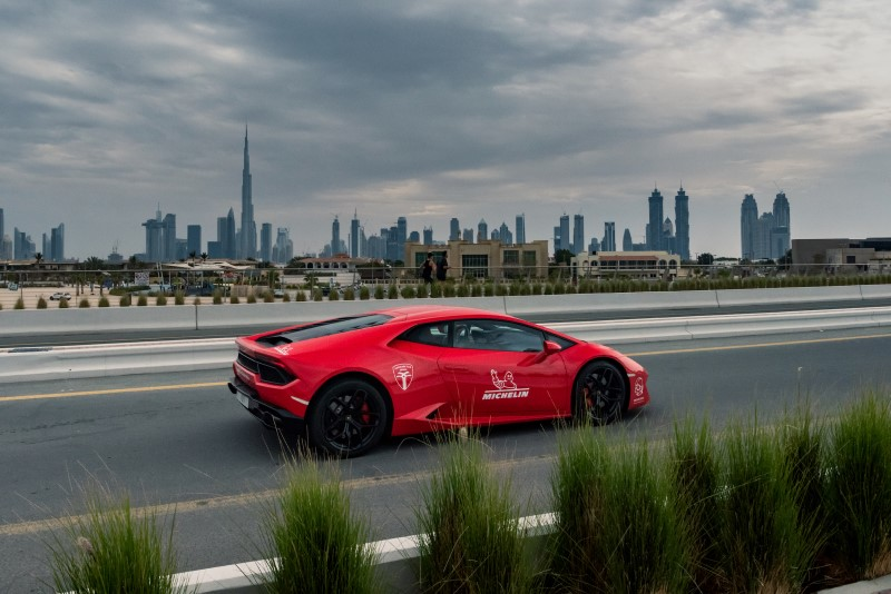 Michelin Collaborates with Supercars Club Arabia for UAE Tour