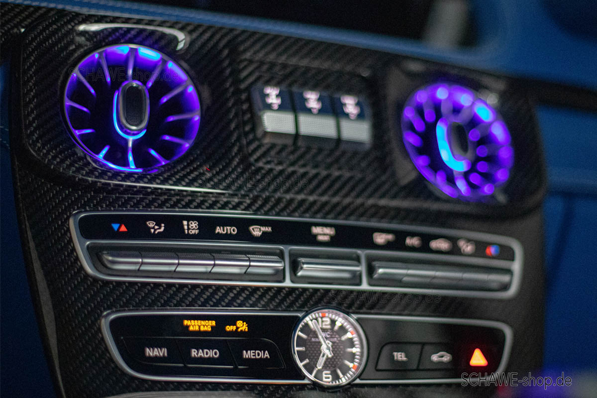 SCHAWE Car Design, Additional ambient lighting for the Mercedes-Benz G-Class