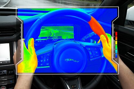 Jaguar Land Rover Develops Sensory Steering Wheel to Minimize Driver Distraction