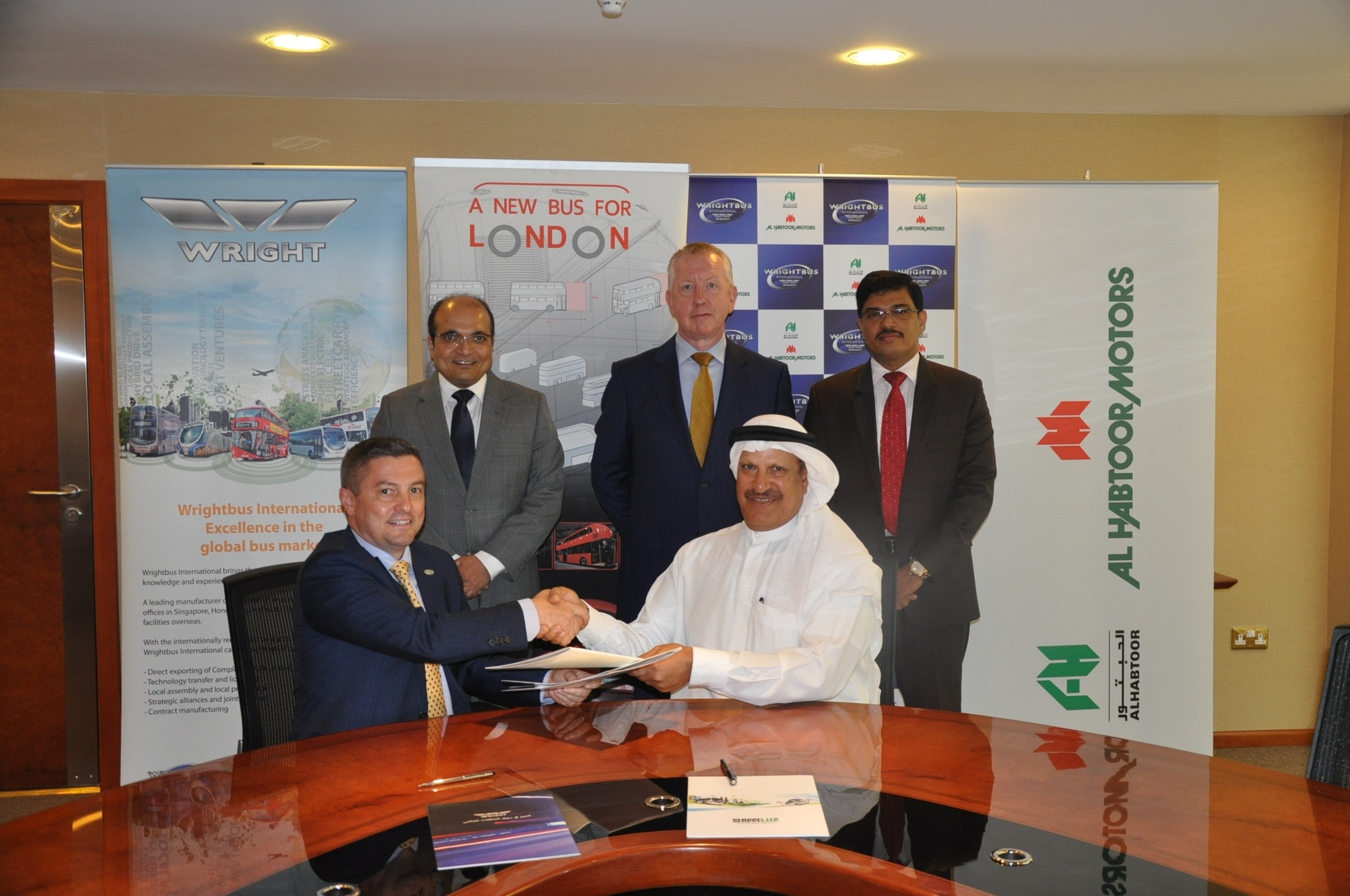Wrightbus International Signs Partnership Deal with Al Habtoor Motors