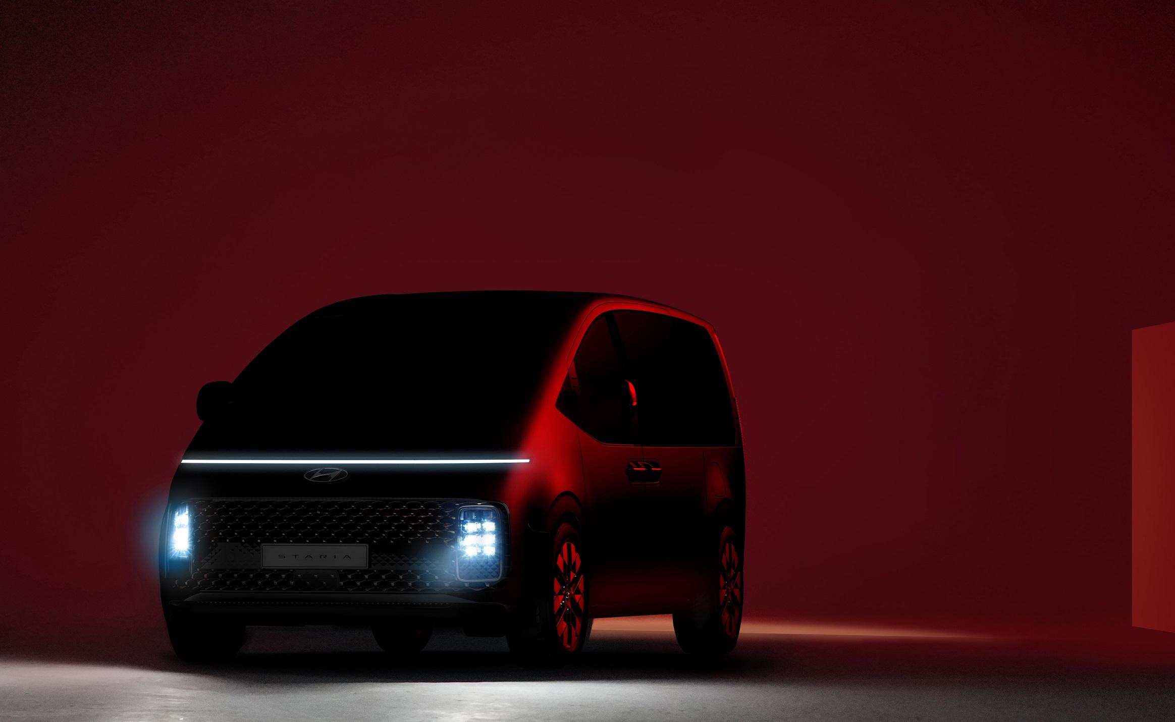 Hyundai Motor's Debuts New STARIA MPV