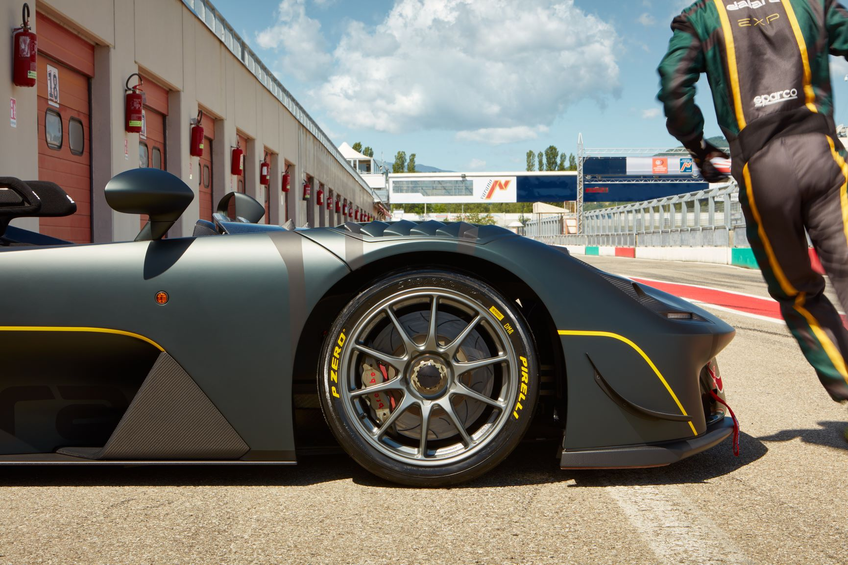 Pirelli P Zero Slick And The Dallara Stradale Exp Conquer Mugello Tyres Developed Especially For Trackday Variant Of Stradale That Laps Tuscan Circuit As Fast As A Gt3 Car