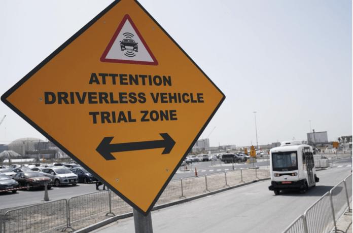 Dubai Begins Trial Run of Autonomous Vehicle at Expo 2020 Dubai Site