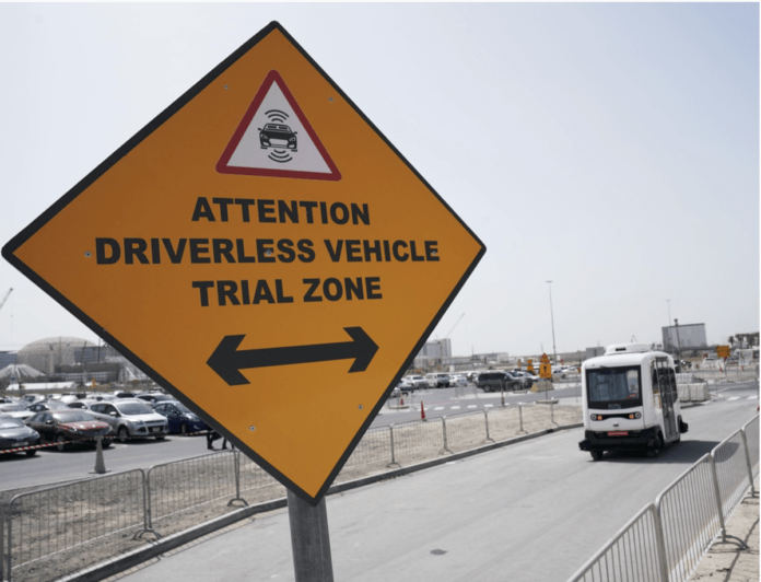 Dubai Begins Trial Run of Autonomous Vehicle at Expo 2020 Dubai Site