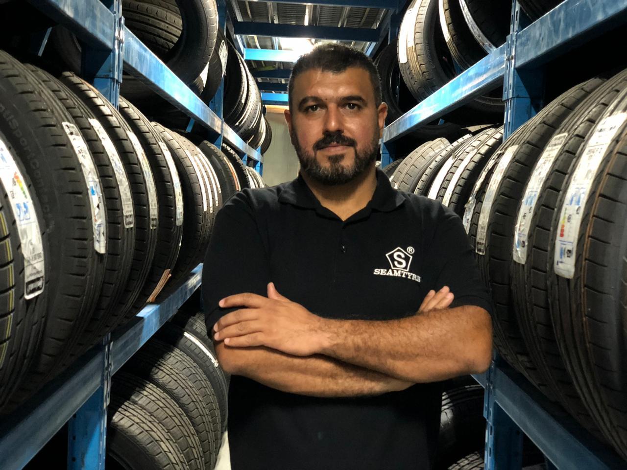 Interview with Ruhollah Rezaei - Al Nouf Tyres (SEAM Tyres)