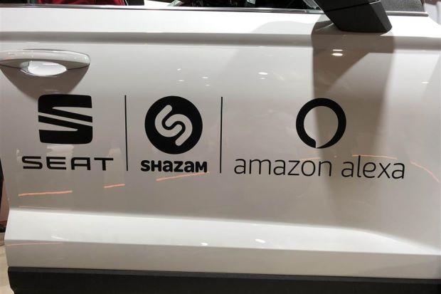Seat Integrates Shazam
