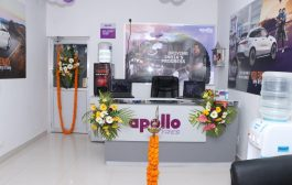 Apollo inaugurates a  specialised Service Centre for tyres