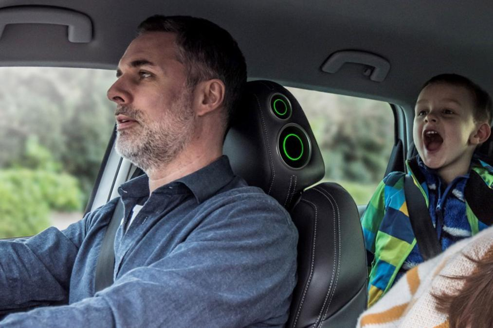 Skoda comes up with Noise-cancelling Headrest for April Fools Day