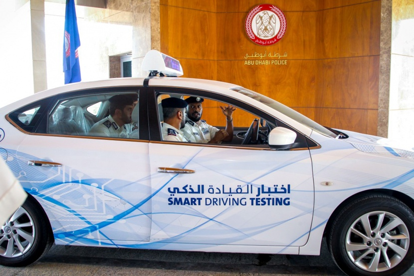 Abu Dhabi to Implement Smart Driving Tests from December
