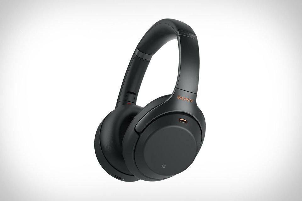 Sony WH-1000XM3 Noise-Canceling Headphones