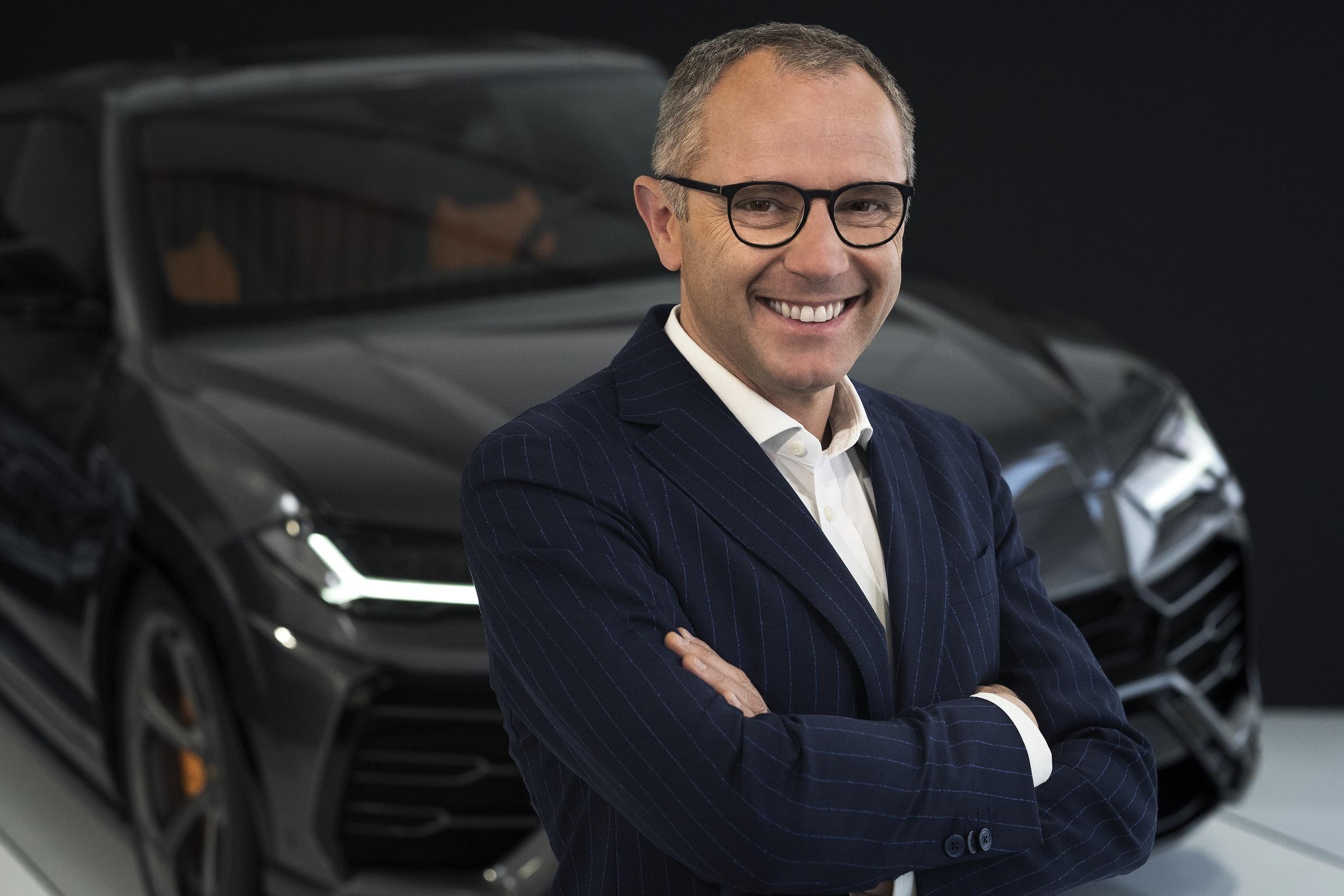 Stefano Domenicali Chairman and CEO of Automobili Lamborghini
