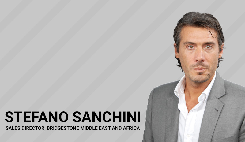 Q&A with Stefano Sanchini, Sales Director, Bridgestone Middle East & Africa